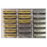 18 Store Stock Micro Train N Gauge Freight Cars