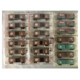 6 Store Stock Micro Trains N Gauge Freight Car Set