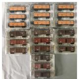 7 Store Stock Micro Trains N Gauge Freight Car Set