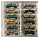 12 Store Stock Micro Trains N Gauge Tank Cars