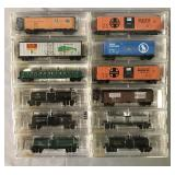 12 Store Stock Micro Trains N Gauge Freight Cars