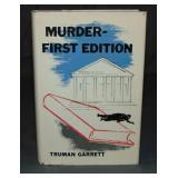Truman Garrett. Scarce 1st Edition in DJ.