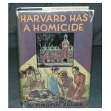 Timothy Fuller. Harvard Has a Homicide. 1st.