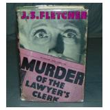 J.S. Fletcher. Murder of the Lawyers Clerk.