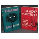 Gladys Mitchell. Lot of Two First Editions