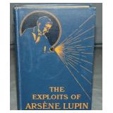 Maurice Leblanc. 1st Edition NY 1907.