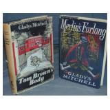 Gladys Mitchell. 1st Editions Lot of Two.