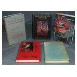 Lot of Five Mystery Fiction Books.