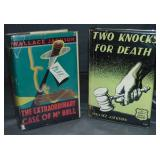 Wallace Jackson. Lot of Two First Editions.