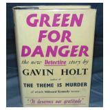 Gavin Holt. Green For Danger. 1st Dj.