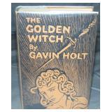 Gavin Holt. The Golden Witch. Scarce 1st Dj.