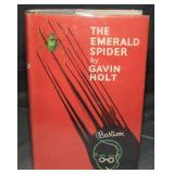 Gavin Holt. The Emerald Spider. 1st Dj.