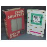 Gavin Holt. Lot of Two First Editions.