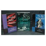 Lot of Three. First Editions in DJ