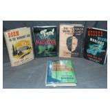 Lot of Five1st Editions in Dust Jackets.