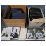 Autograph Archive. In Binders.