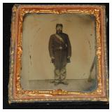 1/6th Plate Ambrotype.