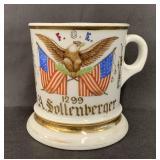 Fraternal Shaving Mug, Order of Eagles