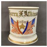 Fraternal Shaving Mug Patriotic Order Sons America