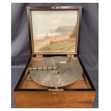 Kalliope Music Box with Disc