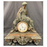 Seth Thomas & Sons Figural Mantle Clock