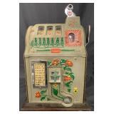 5 Cent Mills Jackpot Poinsettia Slot Machine