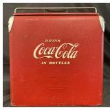 Vtg Drink Coca-Cola in Bottles Cooler, Acton Mfg