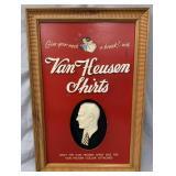 Van Heusen Shirts Advertising Sign