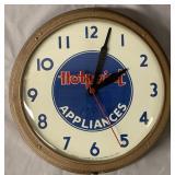 Hotpoint Appliances Advertising Clock