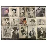 Western Movie Actors Signed Photos