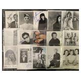 Musicians Signed 8 x 10 Photos.