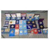 Coin and Medallion Lot.