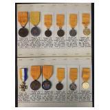 British Medal Lot.