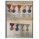 Medal Lot. (9) Pieces.