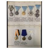 Lot of Eight Military Medals.