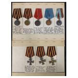 Lot of Eight Medals.