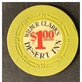 Casino Chip. Wilbur Clark