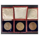British Commemorative Medals Lot of Three.
