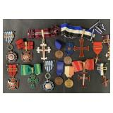 Lot of (14) Mixed Military Medals.