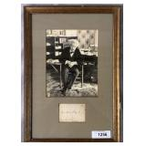 S.L. Clemens. Mark Twain. Signed.