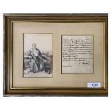 Letter Signed L. Chevalieri