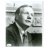 """Neil Armstrong. Signed 8"""" x 10"""". JSA."""