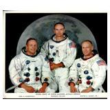 Apollo 11 Photo Signed.