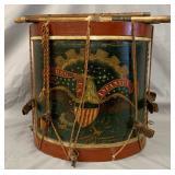 Charles E. Town Civil War Era Drum.
