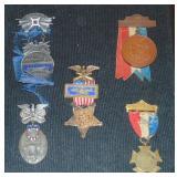 Civil War Commemorative Medals.