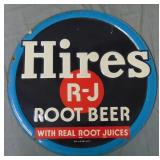 Hires Root Beer Tin Sign.