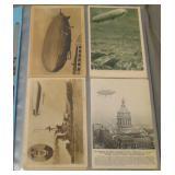 Aviation Post Card Lot.