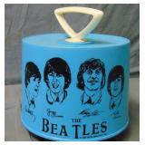 Blue 1966 Beatles 45 RPM Disk Go Case