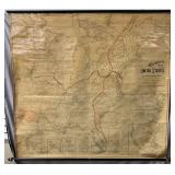 1887 Wheeler Goff Historical Map of United States