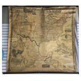 1861 The Washington Map of the United States